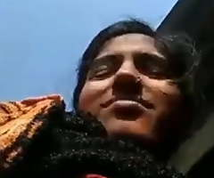 Desi municipal girl outdoor fingering