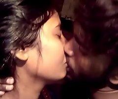 Desi girls hot relationship fondling