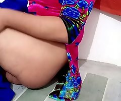 Desi CD Gay downtrodden in salwar kameez teasing gaand ass affixing 4