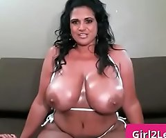 Busty indian milf shows her subhuman boobs - Kailani Kai