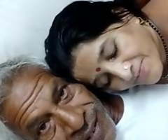 Aged defy with an increment of bhabhi suck dick