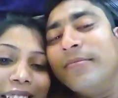 Desi Shimla span is kissing and shafting