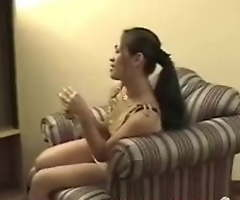 Young Filipina puberty licking each other's moist pussies