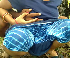 First Outdoor Risky Public Coition With Stepsister