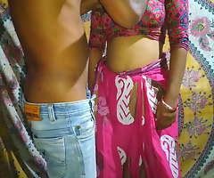 Beautiful Desi bhabhi has fixed fuck here devar