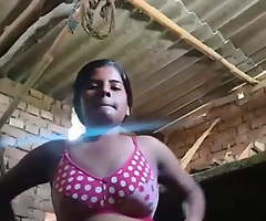 Village Girl's Boobs And Pussy Filmed For Lover