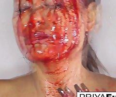 Halloween bloody twitting more Priya Rai