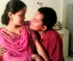 Indian Village Girl Fucked and Hot Kissed at the end of one's tether Attractive Porn Video