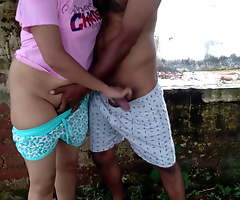 first age alfresco risking public  sex with friend sister