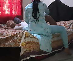 Real bowdi seduced and fucked her debor with Bangla audio