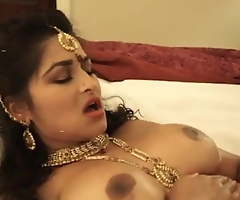Indian Bhabhi Horny Lily Smiles Drilled Overwrought Her New Masseur