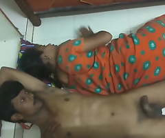 Desi Filly added to Her Husband Fulminous Fucking