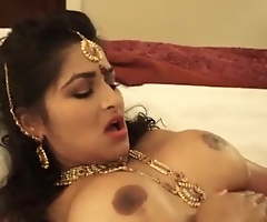 Indian hawt wife increased by husband try hard sex in their first night