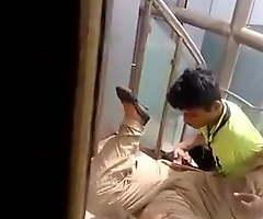 Desi sweetheart finger-tickled hard in hospital
