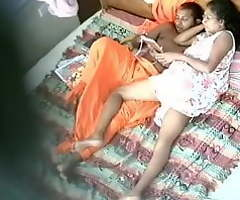 Srilankan aunty and boy