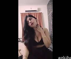 Pellicle call with unclothed bhabhi