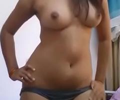 Indian desi girlfriend selfie for her boyfriend