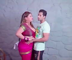 Indian sangeeta bhabhi has coition with young boy