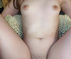 Real Girlfriend Cums With Pulsating Creep