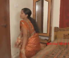 Indian aunty screwed with affix boy