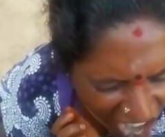 Tamil Amma tremendous blowjob