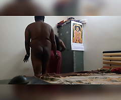Indian broad in the beam aunty shagging uncle