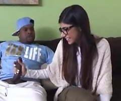 Miya Khalifa, precedent-setting video, big tits, pornographic star