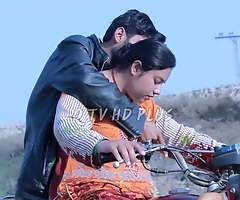 Sadaf Khan on bike impetus with aunty