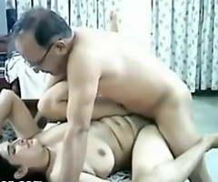 Desi uncle fucking wife