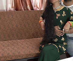 Eid special- Priya unchanging anal fuck hard by Shohar in clear audio
