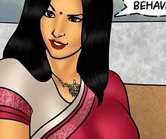 Savita Bhabhi Episode 78 - Pizza Delivery &ndash_ Extra Sausage !!!