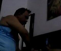 Indian daddy having fun with hijda
