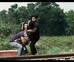 Indian seconded bhabhi fuck by two boy forced