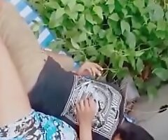 Indian Men and Girl caught fucking in small jungle
