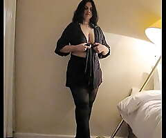 Curvy and Chunky Indian Amateur MILF Strips