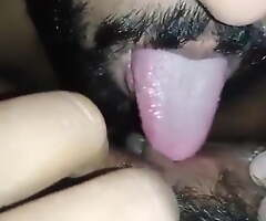 Indian Married Girl's Pussy Licked Apart from Their way Secret Suitor