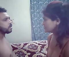 Indian step mom fucked by step laddie