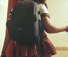 Desi Bhabhi College Girl Has Cosplay Sex at hand Hindi – Big Botheration