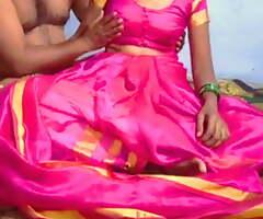 Sex with Telugu wife in fist sari