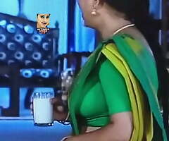Tamil semi-monthly – aunty's hot boobs in HD