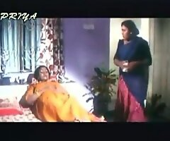 fat desi indian around white saari very down in the mouth basic mamma showing