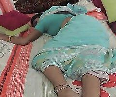 Juvenile House-servant - Saree Aunty --