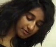 Indian girl'_s Oil massage