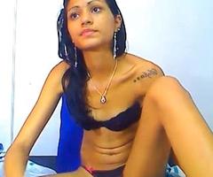 Indian teen debilitating black bra and panty 3
