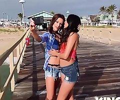 Sophia Leone, Mandy Flores In Bff Beach Harlots