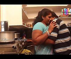 Hot desi masala aunty enticed by a teen boy