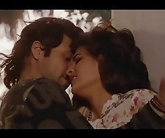 Bollywood dreamboat Jacqueline Fernandez hot kissing vignettes   downcast dance !