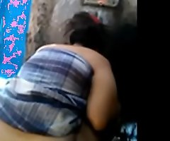 Indian aunty Bare-ass dust captured by her lover from hidden camera