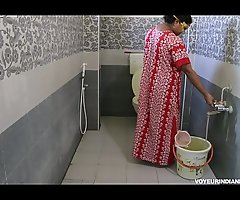Sexy Hot Indian Bhabhi Dipinitta Luring Shower Receipt Rough Sexual congress