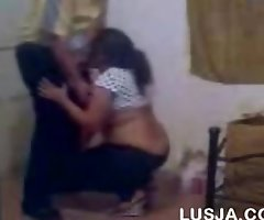 Aunty round office colleague quick bj forth her dat...
